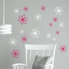 Wall Decals Daisy Flower Stickers Wall Stickers Vinyl Flower Decals Girls Room Wall Art Decals Baby Bedroom Decor 8pcs T180312 Baby Bedroom Decoration Bedroom Decorgirls Room Aliexpress