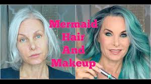 mermaid hair and makeup you