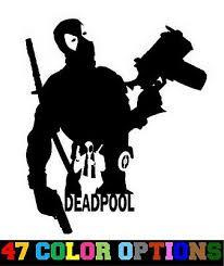 Deadpool Vinyl Sticker Skateboard Laptop Car Die Cut Decal Legends X Men Marvel Stickers Decals