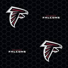 fathead atlanta falcons black logo
