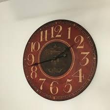 rustic antiquite de paris wall clock