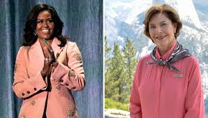 Michelle Obama and Laura Bush together ...