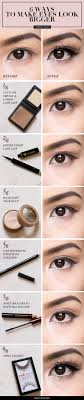 how to make eyes look asian makeup