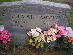 Lula Perry Williamson (1896-1961) - Find A Grave Memorial