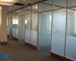 office dividers glass