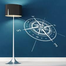 Best Buy Compass Wall Sticker Vinyl Compass North South East West Points Wall Decal Vinyl Wall Art Mural Direction Design Decor Ay651 Kjy Cconf Org