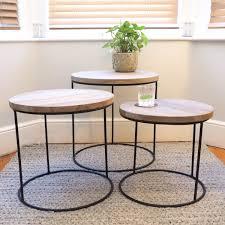 industrial nest of tables za za homes