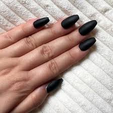 hand painted false nails coffin or any