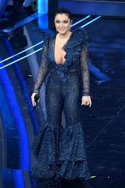 ELETTRA LAMBORGHINI at 2020 Sanremo Music Festival, February 2020 ...