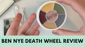 review wheel from ben nye makeup
