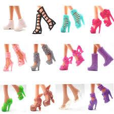 Bộ 40 chiếc giày cao gót cho búp bê Barbie