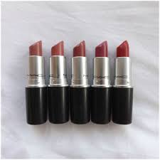 my mac lipstick collection and swatches