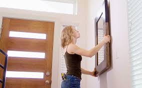 how to hang a heavy mirror the home depot