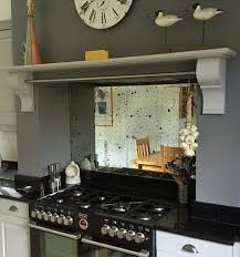sparkle antique mirror splashback