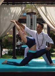 yoga at talise spa madinat jumeirah