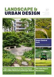 landscape urban design issue 37
