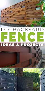 Fancy Diy Backyard Fence Ideas The Garden Glove