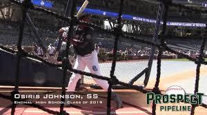 Osiris Johnson Prospect Video, SS, Encinal High School Class of 2018 -  YouTube