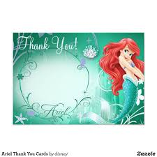 Ariel Thank You Cards Zazzle Com Crear Invitaciones De