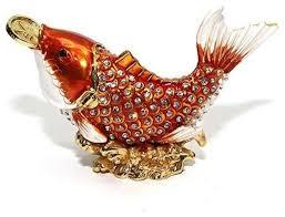 enameled figures 24k gold jewelry box