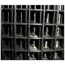 Welded Wire Yard Guard Fence Black Vinyl Coated 1 X 1 6 High X 50 16ga Wayside Fence Company