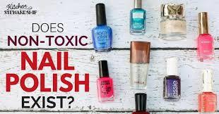 non toxic brand of nail polish