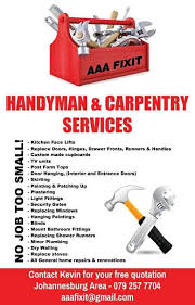 quotes in the area aaafixit handyman and