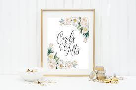 printable wedding signage