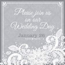 wedding invitation lace template free