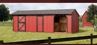 amish built horse monitor barns for