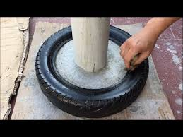 making coffee tables from tires