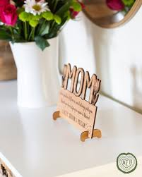 gift for teachers desk quote engraved on wood sign