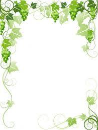 ᐈ g vine border clip art stock