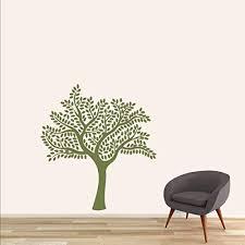 Amazon Com Cheyan Shade Tree Olive Green Home Decor Vinyl Wall Decal Home Kitchen