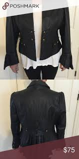 leather jacket never worn metrostyle