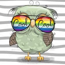 owl cartoon cartoon owl drawing
