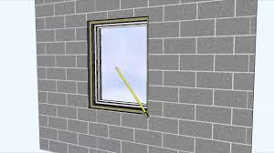 install nail fin windows with masonry