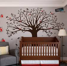Family Tree With Birds Wall Decal Sticker 6087 Stickerbrand