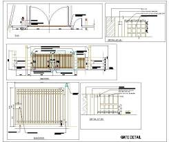 Ms Main Gate Design Cad Drawing Autocad Dwg Plan N Design