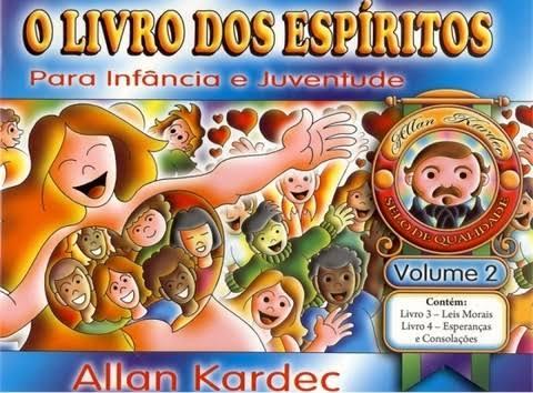 """Resultado de imagem para O livro dos espíritos para infância e juventude. Vol.II"""""""