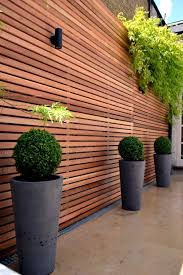 garden fence wood or plastic