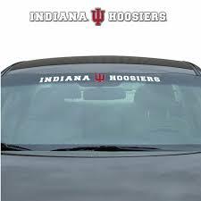 Team Promark Wsdu024 Ncaa Indiana Hoosiers Windshield Decal For Sale Online Ebay