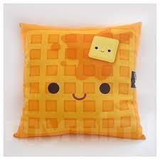 12 X 12 Waffle Pillow Stuffed Toy Kids Room Decor Etsy
