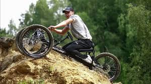 EXPLORER II - mountain handbike for handicapped - YouTube
