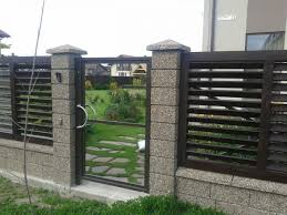 Modern House Fence Philippines House Fence Design Fence Design Fence Wall Design