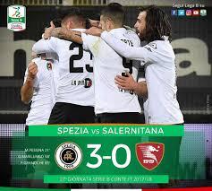 Serie B: lo Spezia cala il tris alla Salernitana e aggancia la ...