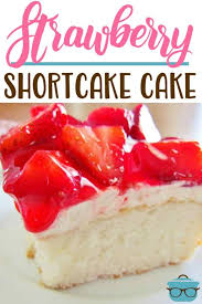 strawberry shortcake cake video