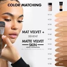 makeup forever mat velvet foundation 40