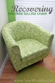 recovering the ikea tullsta chair sew