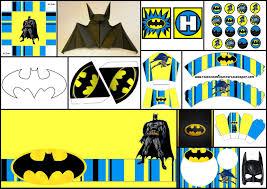 Batman Decoracion Kits Para Imprimir Gratis Actividades Paso A
